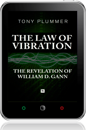 Cover of The Law of Vibration on Tablet by Tony Plummer