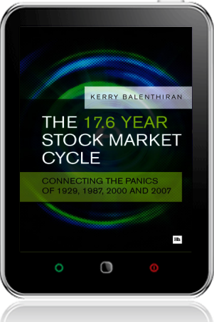 Cover of The 17.6 Year Stock Market Cycle (Tablet)