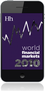 Cover of World Financial Markets in 2010 on Mobile by George G. Blakey