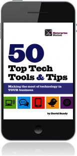 Cover of 50 Top Tech Tools and Tips on Mobile by David Sandy