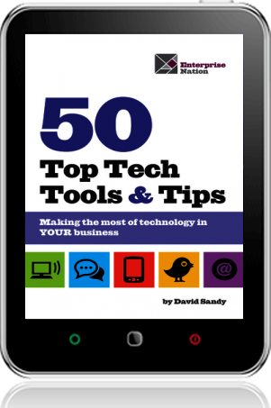 Cover of 50 Top Tech Tools and Tips on Tablet by David Sandy