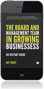 Cover of The Board and Management Team in Growing Businesses (Mobile Phone)