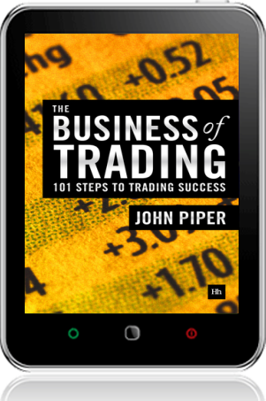 Cover of The Business of Trading on Tablet by John Piper