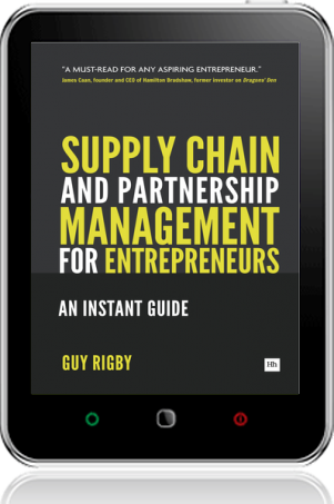 Cover of Supply Chain and Partnership Management for Entrepreneurs (Tablet)