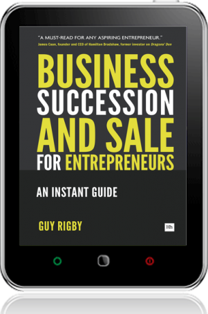 Cover of Business Succession & Sale for Entrepreneurs (Tablet)