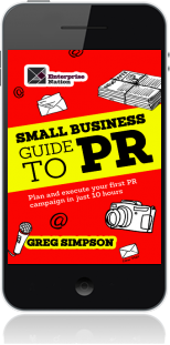 Cover of The Small Business Guide to PR on Mobile by Greg Simpson