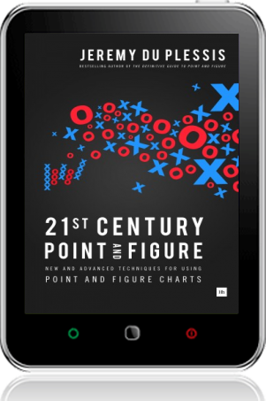 Cover of 21st Century Point and Figure on Tablet by Jeremy du Plessis