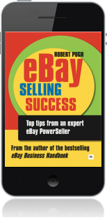 Cover of eBay Selling Success on Mobile by Robert Pugh
