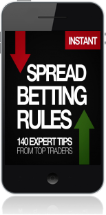 Cover of The Harriman Book of Spread Betting Rules on Mobile by John Bonner