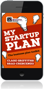 Cover of My Start-Up Plan (Mobile Phone)
