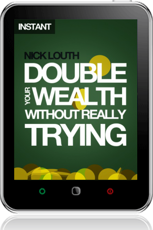 Cover of Double Your Wealth Without Really Trying on Tablet by Nick Louth