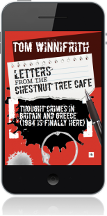 Cover of Letters from the Chestnut Tree Cafe on Mobile by Tom Winnifrith