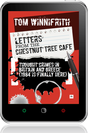 Cover of Letters from the Chestnut Tree Cafe on Tablet by Tom Winnifrith
