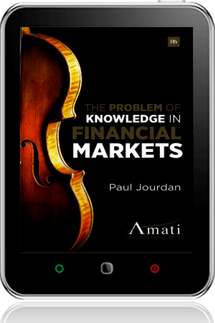 Cover of The Problem of Knowledge in Financial Markets on Tablet by Paul Jourdan