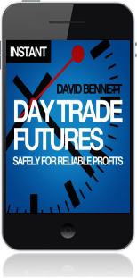 Cover of Day Trade Futures Safely For Reliable Profits (Mobile Phone)
