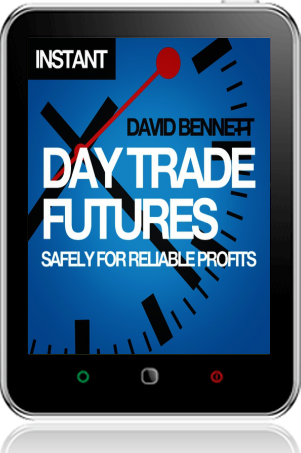 Cover of Day Trade Futures Safely For Reliable Profits (Tablet)