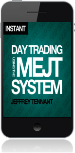 Cover of Day Trading Using the MEJT System on Mobile by Jeffrey Tennant