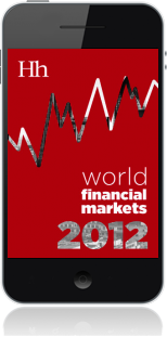 Cover of World Financial Markets in 2012 on Mobile by George G. Blakey