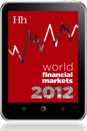 Cover of World Financial Markets in 2012 on Tablet by George G. Blakey