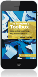 Cover of The Investor's Toolbox on Mobile by Peter Temple