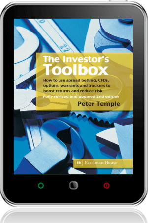 Cover of The Investor's Toolbox on Tablet by Peter Temple