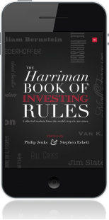 Cover of The Harriman Book Of Investing Rules on Mobile by Stephen Eckett