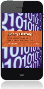 Cover of Binary Betting on Mobile by John Piper