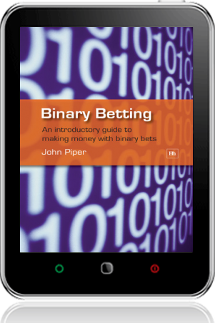 Cover of Binary Betting on Tablet by John Piper