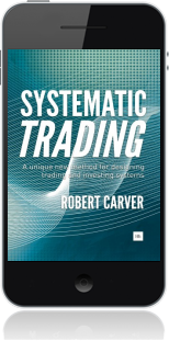 Cover of Systematic Trading on Mobile by Robert Carver