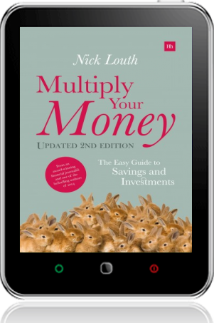 Cover of Multiply Your Money on Tablet by Nick Louth