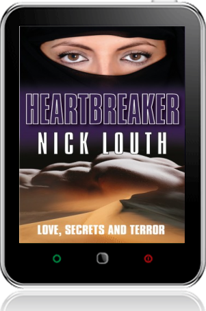 Cover of Heartbreaker on Tablet by Nick Louth