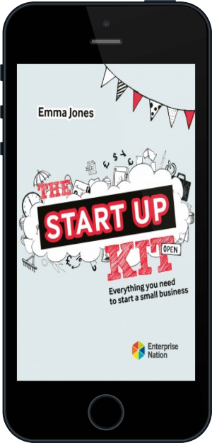 Cover of The StartUp Kit on Mobile by Emma Jones