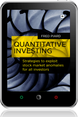 Cover of Quantitative Investing on Tablet by Fred Piard