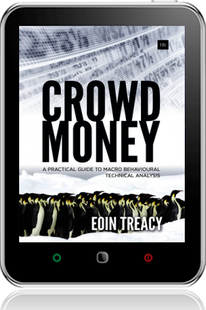 Cover of Crowd Money on Tablet by Eoin Treacy