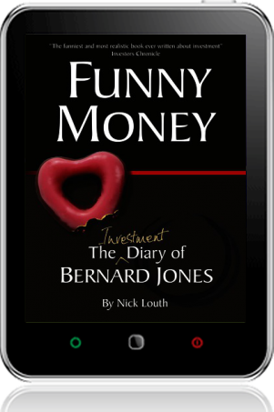 Cover of Funny Money on Tablet by Nick Louth