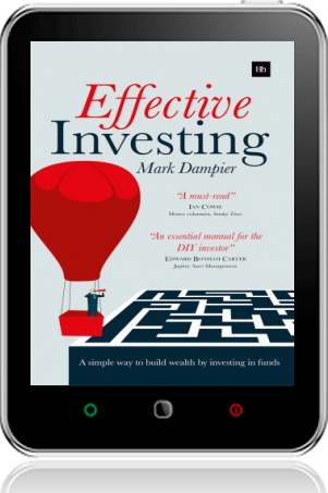 Cover of Effective Investing on Tablet by Mark Dampier