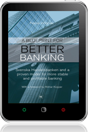 Cover of A Blueprint for Better Banking on Tablet by Niels Kroner