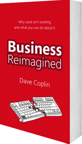 Cover of Business Reimagined (Hardback) by Dave Coplin
