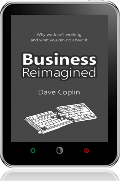 Cover of Business Reimagined (Tablet BW)
