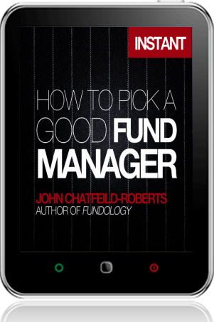 Cover of How to Pick a Good Fund Manager on Tablet by John Chatfeild-Roberts