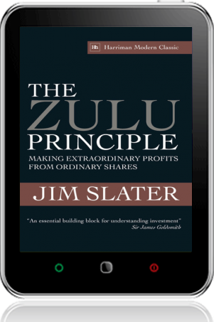 Cover of The Zulu Principle on Tablet by Jim Slater