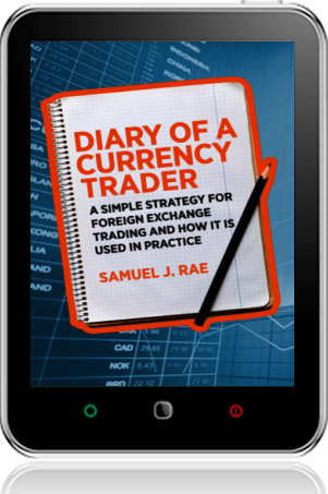 Cover of Diary of a Currency Trader on Tablet by Samuel J. Rae