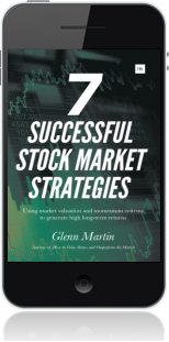 Cover of 7 Successful Stock Market Strategies on Mobile by Glenn Martin