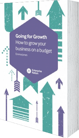 Cover of Going for Growth (Paperback) by Emma Jones