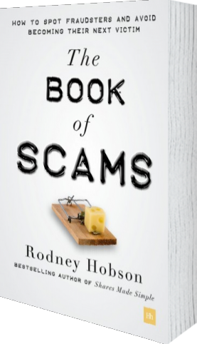 Cover of The Book of Scams (Paperback) by Rodney Hobson