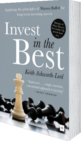 Cover of Invest in the Best by Keith Ashwoth-Lord
