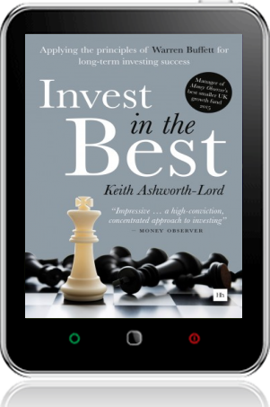 Cover of Invest in the Best on Tablet by Keith Ashwoth-Lord