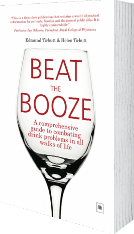 Cover of Beat the Booze (Hardback) by Edmund Tirbutt andHelen Tirbutt