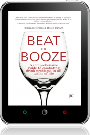 Cover of Beat the Booze on Tablet by Edmund Tirbutt andHelen Tirbutt