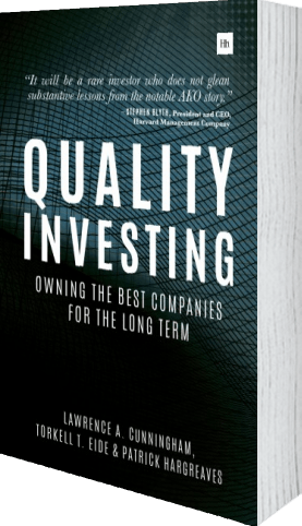 Cover of Quality Investing by Torkell T. Eide andLawrence A. Cunningham andPatrick Hargreaves